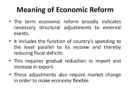 Economic Policies and Reforms