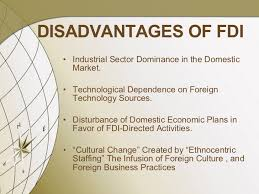 Foreign direct investment -Types, Nature, Objectives, Advantage, Theories and Growth