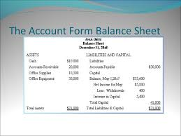 Balance Sheet for Non Profit Organization