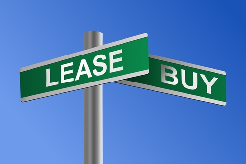 Comparison between leasing and purchasing