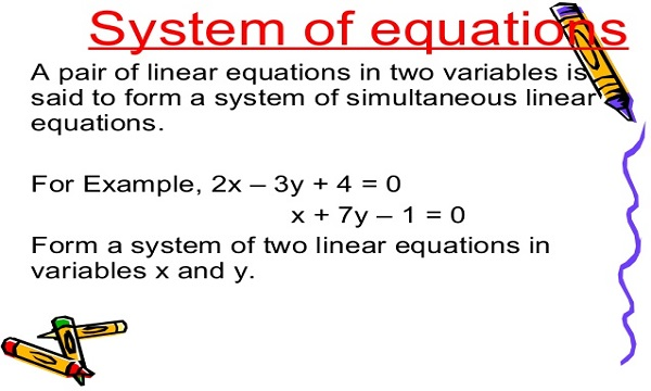 Simultaneous Linear Equation in Two Variables