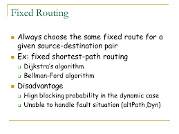Fixed Path Routing