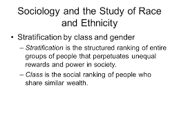 Stratification based on ethnicity and gender