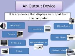 Output Device (Soft copy output)