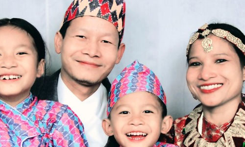 Features of Nepalese family