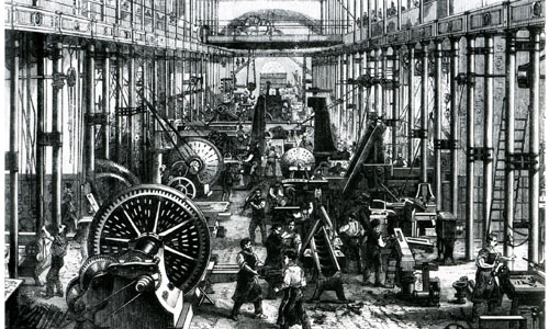 Industrial Revolution, French Revolution, American War of Independence and Russian Revolution