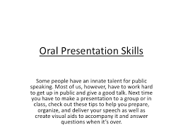 Public Speaking and Oral Reporting 2