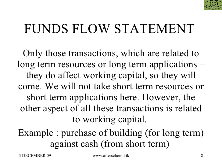 Funds Flow Statement: Flow & No flow of fund, differences & limitations