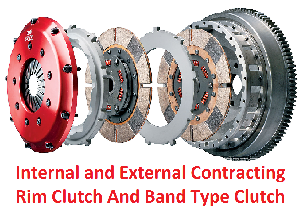 Internal and External Contracting Rim Clutch And Band Type Clutch
