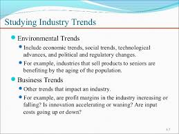 Industry trends analysis