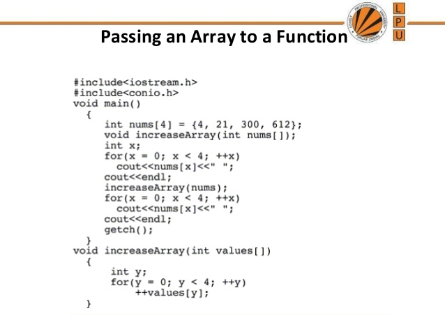 Array with Function
