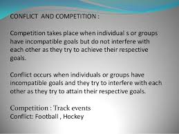 Competition and Conflict
