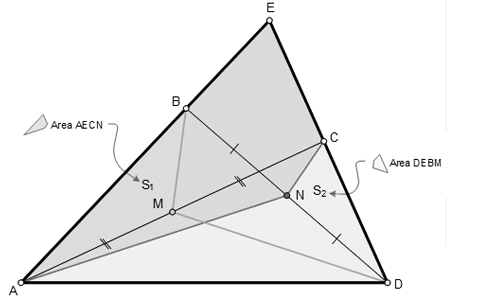 Area of Triangle and Quadrilateral