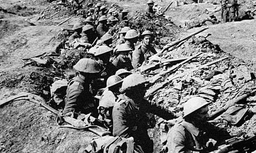 First World War, Causes of the First World War and major events of the First World War