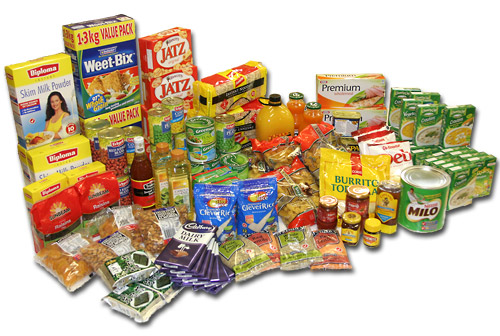 Dry foods and processed Food