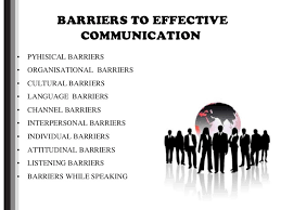 Barriers of Effective Communication-Overcoming Barriers to Communication