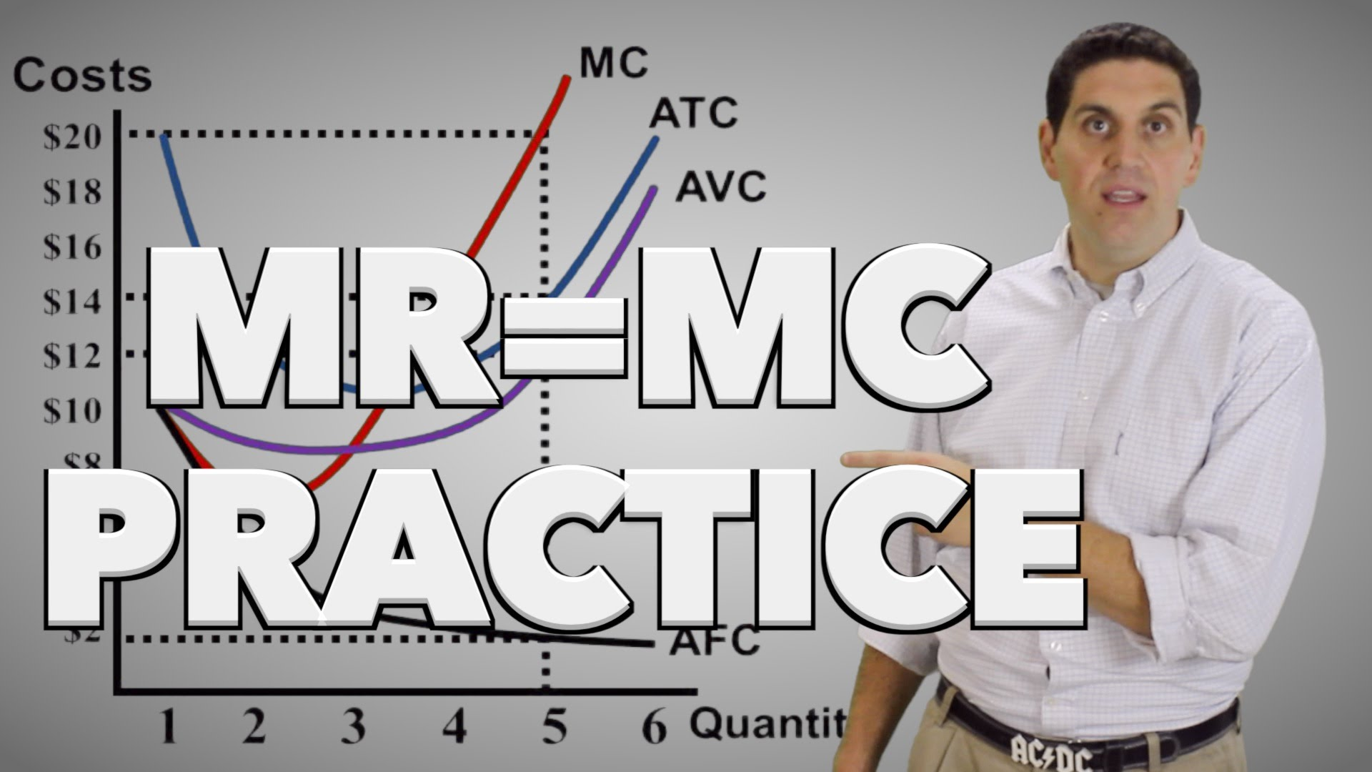 Equilibrium of Firm (MR-MC approach)