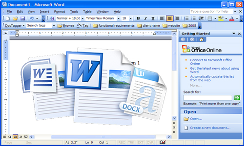 Word Processing Program: MS-Word