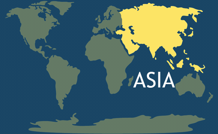 Continent of Asia