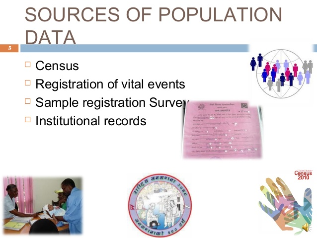 Sources of Population Statistics