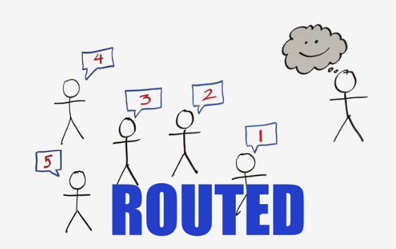 Routing Techniques, Static vs. Dynamic Routing, Routing Table For Classful Address
