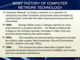 History of Computer Network and its development