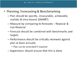 Forecasting and Benchmarking