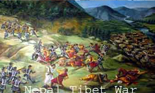 Nepal-Tibet war, Makai Parva and Government-Maoist Talk Team