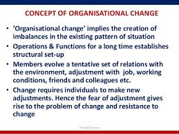 Concept and Forces of Change, Paradigm Shift.