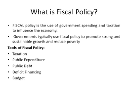 Fiscal policy (Meaning, Instruments)