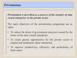 Privatization Policy