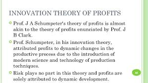 Profits: Dynamic Theory and Innovation Theory
