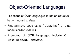 Objects methods  and object oriented languages