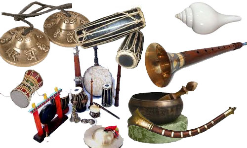 Traditional Nepali Musical Instruments
