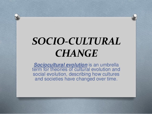 causes of cultural change in sociology