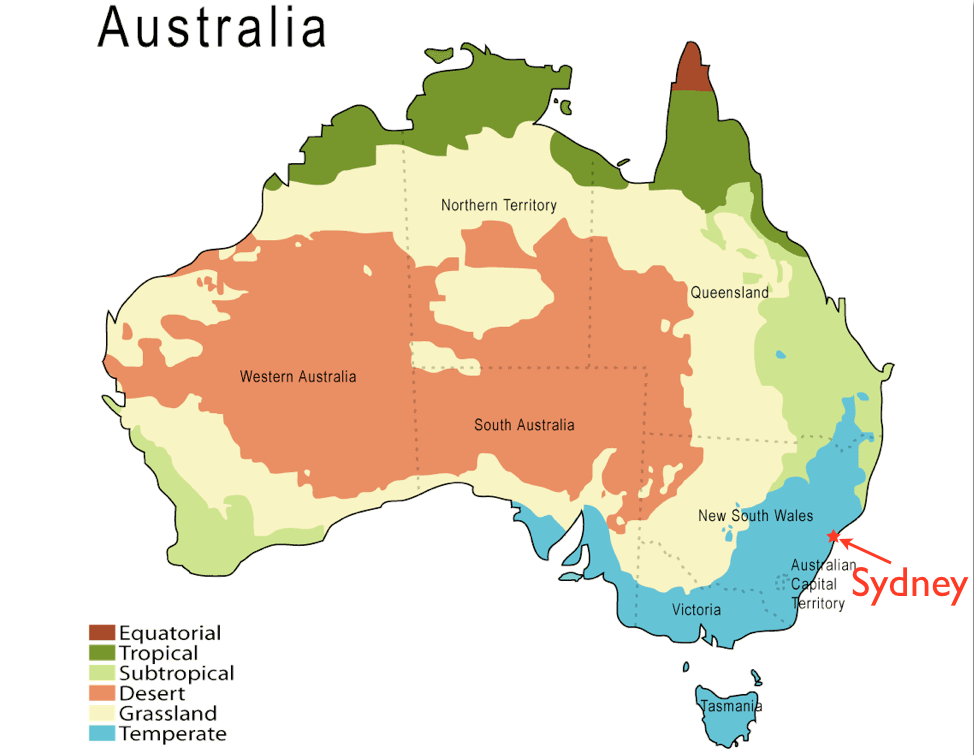 The Physical Features of Australia