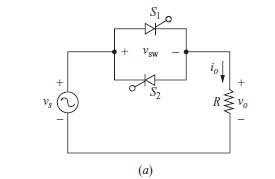 Single Phase Voltage Controller with Phase Control using Resistive And Inductive Load