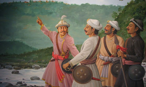 Unification Campaign by Prithvi Narayan Shah