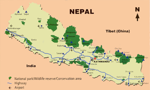 Wildlife Reserves and Conservation Area