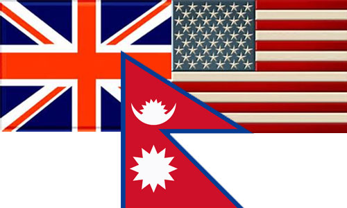 Relation of Nepal with USA and UK