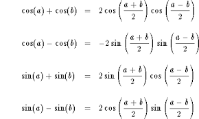 Transformation of Trigonometric Formulae