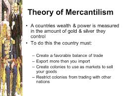 Theory of Mercantilism and Theory of Absolute Advantage