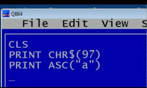 Starting,Structure, Constants and Variables of QBASIC