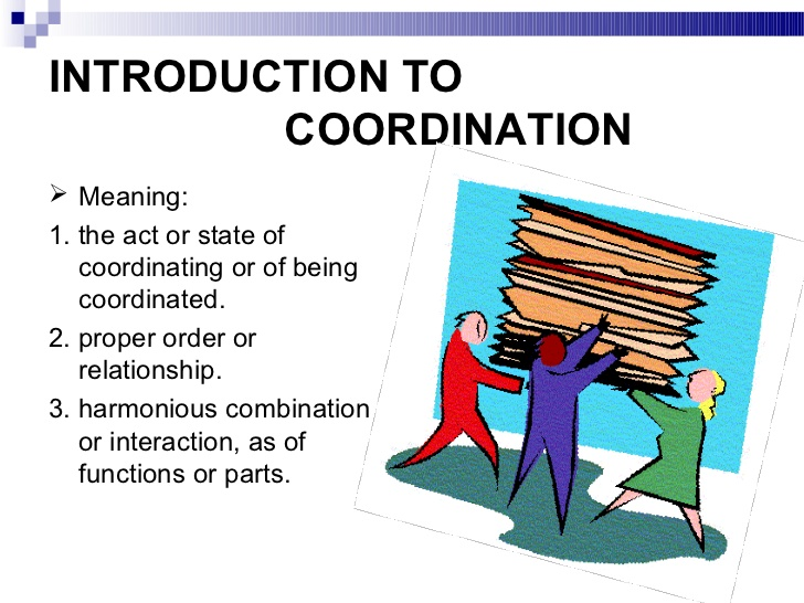 Concept and Techniques of Co-ordination