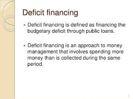 Deficit financing (Meaning and Significance), Budget (Meaning  and Components)