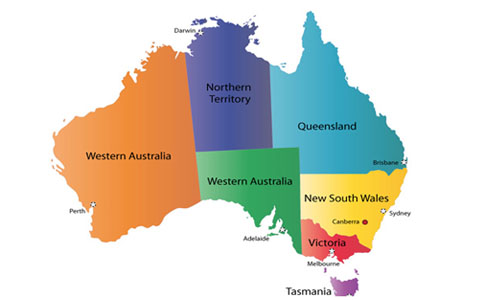 Australia continent and informations