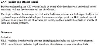 Ethical and social issues in information system