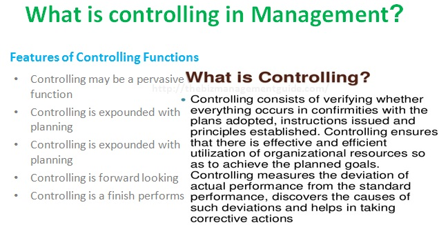 Meaning and Nature of Control