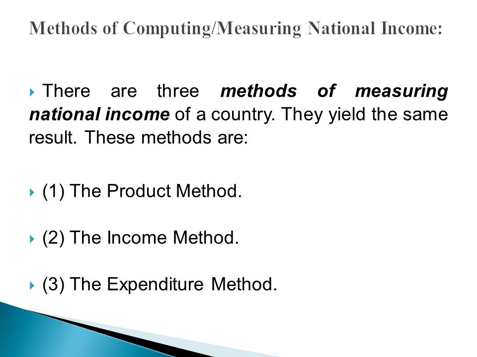 Measurement of National Income and Its Difficulties