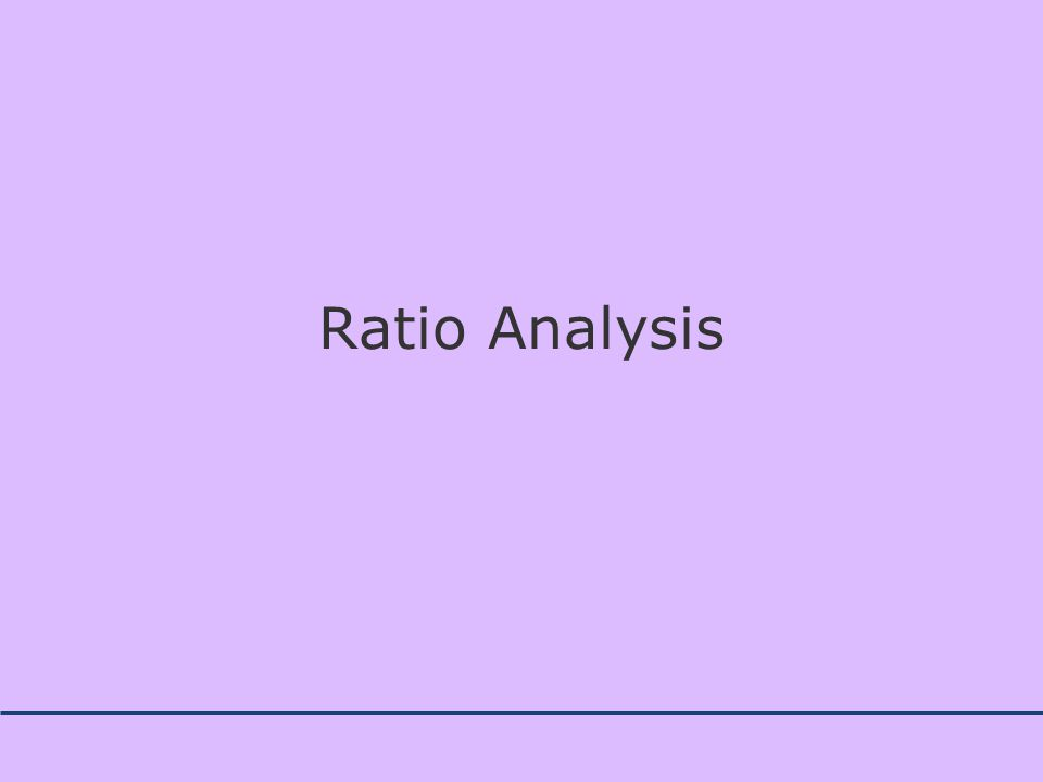 Concept and Meaning of Ratio Analysis